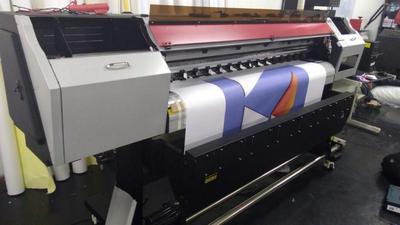 Impressão digital em lona