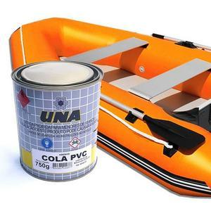 Cola bote inflavel